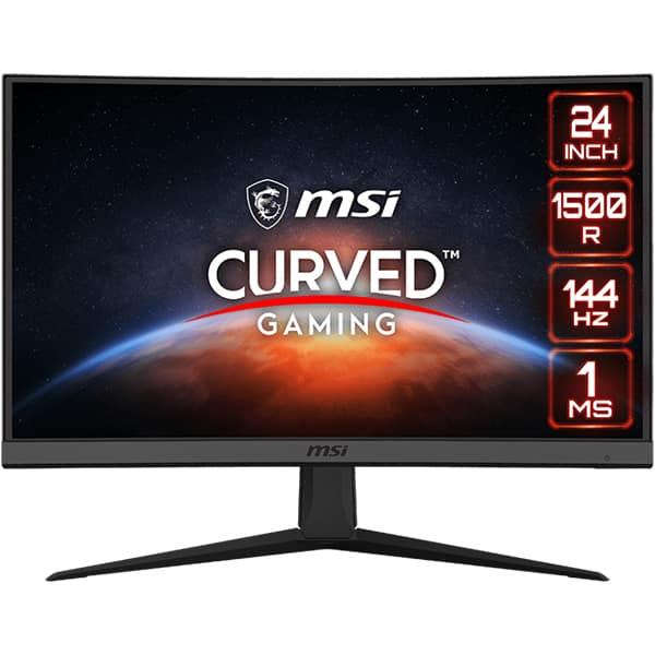 """Monitor Gaming curbat LED VA MSI Optix G24C6, 23.6"""", Full HD, 144Hz, FreeSync, negru"""