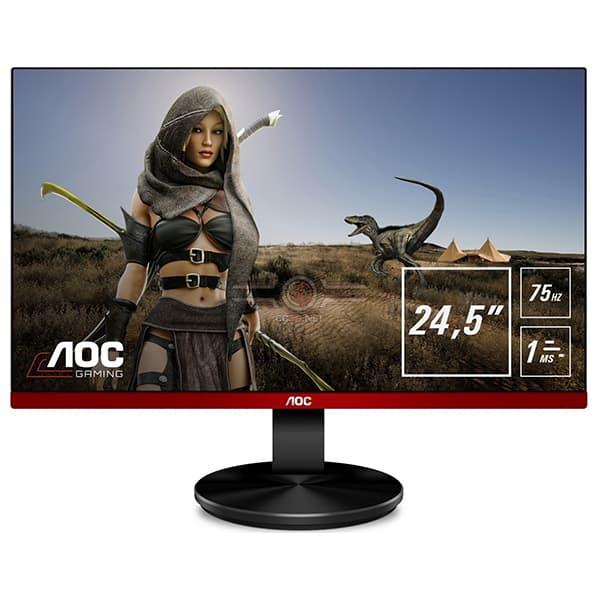 "Monitor Gaming LED TN AOC G2590VXQ, 24.5"", Full HD, 75Hz , FlickerFree, negru"