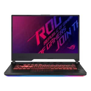 "Laptop Gaming ASUS ROG Strix G G531GT-HN556, Intel Core i7-9750H pana la 4.5GHz, 15.6"" Full HD, 8GB, SSD 512GB, NVIDIA GeForce GTX 1650 4GB, Free DOS, negru"