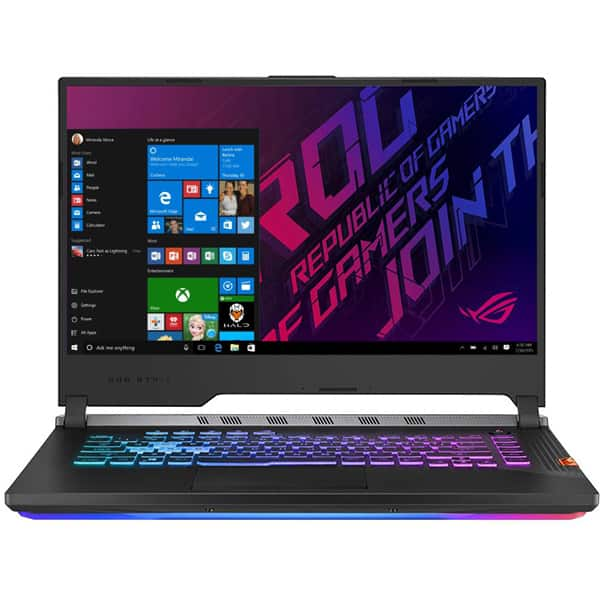 "Laptop Gaming ASUS ROG Strix Scar G531GV-AZ177T, Intel Core i7-9750H pana la 4.5GHz, 15.6"" Full HD, 16GB, SSD 512GB, NVIDIA GeForce RTX 2060 6GB, Windows 10 Home, Gunmetal"