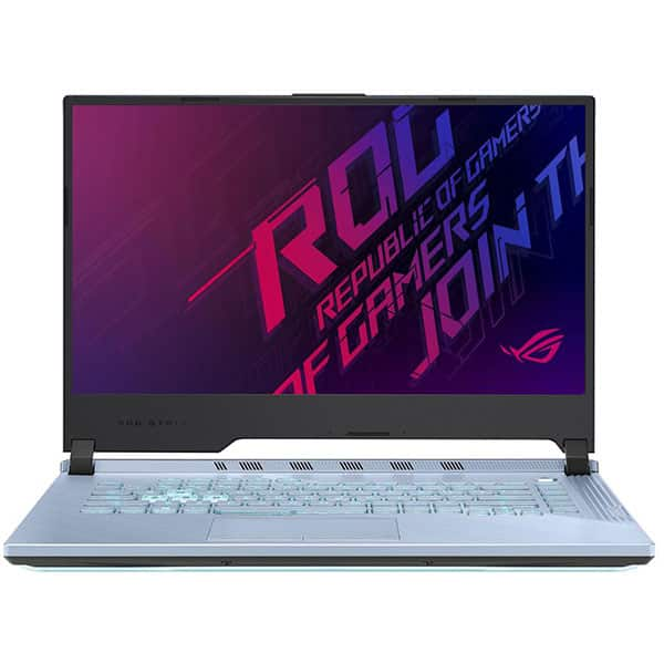 "Laptop Gaming ASUS ROG Strix G G531GW-AL251, Intel Core i7-9750H pana la 4.5GHz, 15.6"" Full HD, 16GB, SSD 512GB, NVIDIA GeForce RTX 2070 8GB, Free Dos, Glacier Blue"