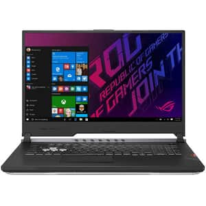 "Laptop Gaming ASUS ROG Strix Scar III G731GV-EV027T, Intel Core i7-9750H pana la 4.5GHz, 17.3"" Full HD, 16GB, HDD 1TB + 256GB SSD, NVIDIA GeForce RTX 2060 6GB, Windows 10 Home, Gunmetal"