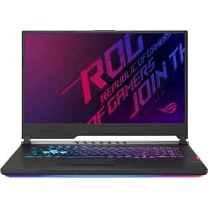"Laptop Gaming ASUS ROG Strix Scar III G731GW-H6181, Intel Core i9-9880H pana la 4.8GHz, 17.3"" Full HD, 32GB, SSD 1TB, NVIDIA GeForce RTX 2070 8GB, Free Dos, Gunmetal"