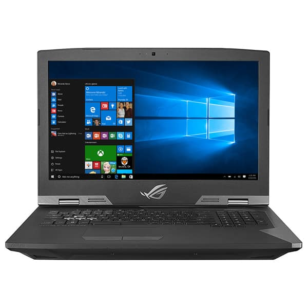 "Laptop Gaming ASUS ROG G703GS-E5001T, Intel Core i7-8750H pana la 3.9GHz, 17.3"" Full HD, 32GB, SSHD 1TB + SSD 2 x 256GB, NVIDIA GeForce GTX 1070 8GB, Windows 10 Home"
