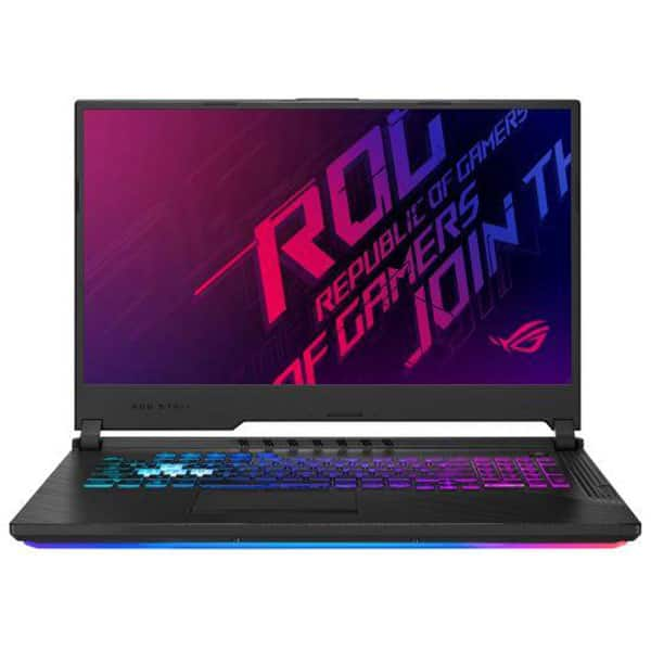 "Laptop Gaming ASUS ROG Strix G G731GV-H7145, Intel Core i7-9750H pana la 4.5GHz, 17.3"" Full HD, 16GB, SSD 512GB, NVIDIA GeForce RTX 2060 6GB, Free Dos, Negru"