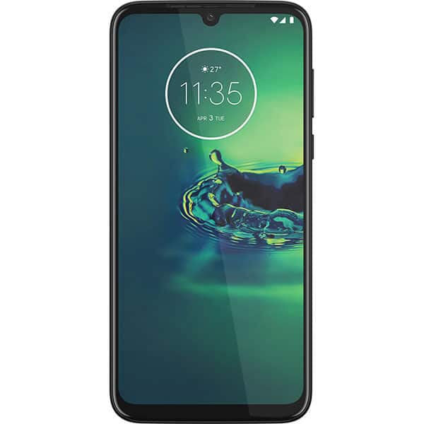Telefon MOTOROLA Moto G8 Plus, 64GB, 4GB RAM, Dual SIM, Cosmic Blue