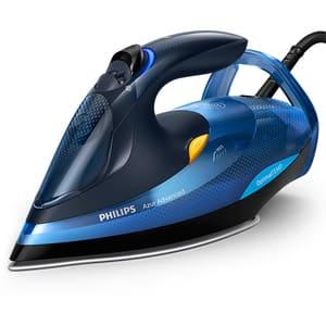Fier de calcat PHILIPS Azur Advanced GC4932/20, 2600W, 220g/min, 350ml, talpa SteamGlide Plus, albastru