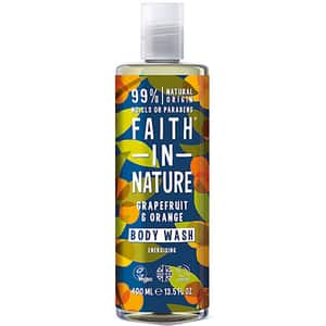 Gel de dus FAITH IN NATURE Grapefruit&Orange, 400ml