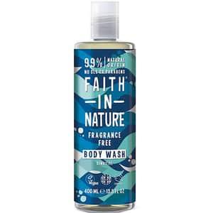 Gel de dus FAITH IN NATURE Fragrance Free, 400ml