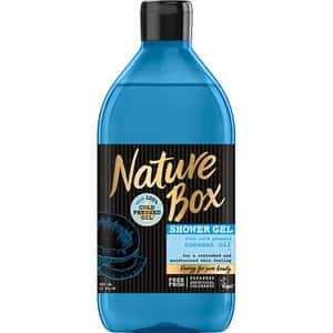 Gel de dus NATURE BOX Cocos, 385ml