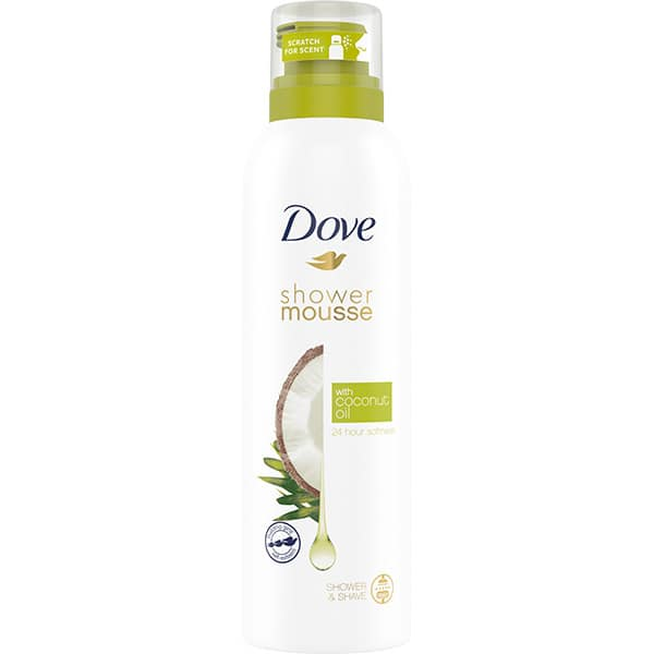 Spuma de dus DOVE Coconut Oil, 200ml