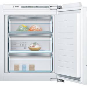 Congelator incorporabil BOSCH GIV11AF30, LowFrost, 72 l, H 71 cm, Clasa A++, alb