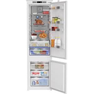 Combina frigorifica incorporabila GRUNDIG GKNI 25942 FN, Duo Cooling No Frost, 284 l, H 193.5 cm, Clasa E, alb