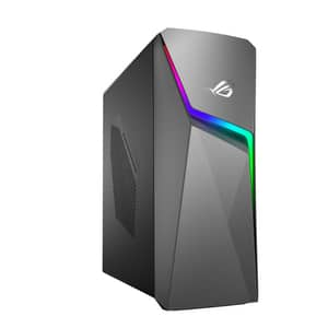 Sistem Desktop Gaming ASUS ROG Strix GL10CS-RO048D, Intel Core i7-9700K pana la 4.9GHz, 8GB, HDD 1TB + SSD 256GB, NVIDIA GeForce RTX 2060 6GB, Free Dos