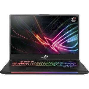 "Laptop Gaming ASUS ROG Strix Scar II GL704GV-EV009, Intel Core i7-8750H pana la 4.1GHz, 17.3"" Full HD, 8GB, SSHD 1TB + SSD 256GB, NVIDIA GeForce RTX 2060 6GB, Free Dos, Gun Metal"