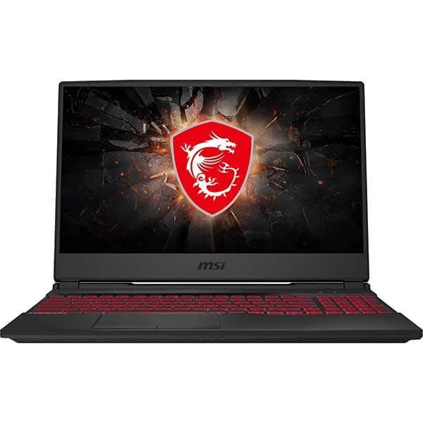 "Laptop Gaming MSI GL65 9SD-206XRO, Intel Core i7-9750H pana la 4.5GHz, 15.6"" Full HD, 8GB, SSD 512GB, NVIDIA GeForce GTX 1660Ti 6GB, Free Dos, negru"
