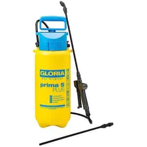 Pompa de stropit GLORIA Prima 5 PLUS, 5L, 3 bar, lance extensie 40 cm, garnituri EPDM, galben