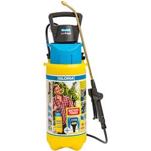 Pompa de stropit GLORIA & AutoPump, 5L, 1.5 bar, lance din alama, garnituri NBR, galben