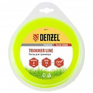 Fir trimmer DENZEL 961117, stea, 2.0 mm x 15 m, Flex Cord