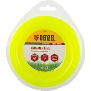Fir trimmer DENZEL 961167, patrat, 2.4 mm x 15 m, Flex Cord
