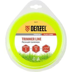 Fir trimmer DENZEL 961177, patrat, 3.0 mm x 15 m, Flex Cord