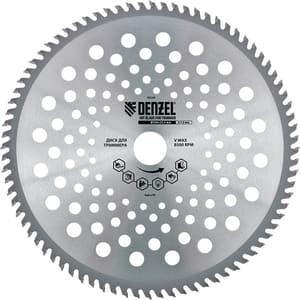 Disc lamelar trimmer DENZEL 96340, 230 x 25,4 mm, grosime 1.3 mm, 40 dinti