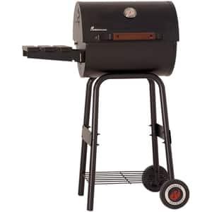 Gratar pe carbuni GRILL CHEF Taurus mini, metal, 44 x 38 cm, negru