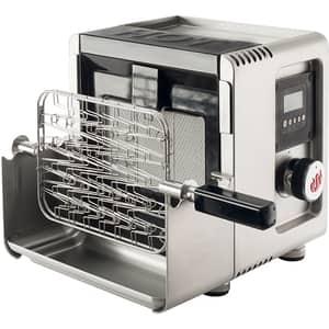 Gratar pe gaz cu arzator infrarosu LANDMANN 800 Smart Grill, 34 x 19 cm, 1 arzator, bluetooth, argintiu