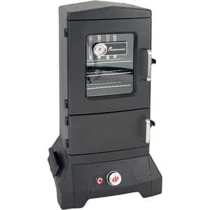 Afumatoare pe gaz LANDMANN 14101, metal, 4 rafturi, 36 x 31 cm, 4 carlige, negru