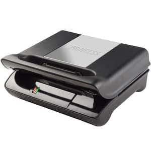 Gratar electric PRINCESS Compact Pro 111700201001, 700W, negru-argintiu