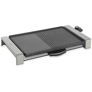 Gratar electric DELIMANO Joy 110069959, 2300W, argintiu-negru