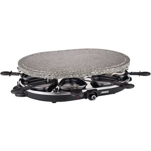 Gratar electric PRINCESS Raclette 116272001001, 1200W, negru-argintiu