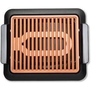 Gratar electric MEDIASHOP Smokeless Grill M17314, 1300W, negru