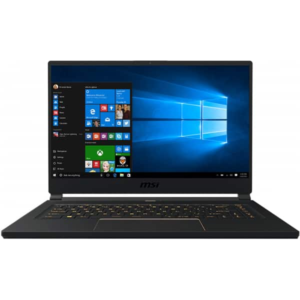 "Laptop Gaming MSI GS65 Stealth 8SE, Intel® Core™ i7-8750H pana la 4.1GHz, 15.6"" Full HD, 16GB, SSD 512GB, NVIDIA GeForce RTX 2060 6GB, Windows 10 Home"