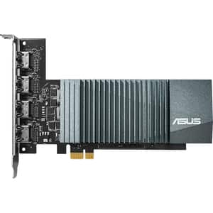 Placa video ASUS NVIDIA GeForce GT 710, 2GB GDDR5, 64bit, GT710-4H-SL-2GD5