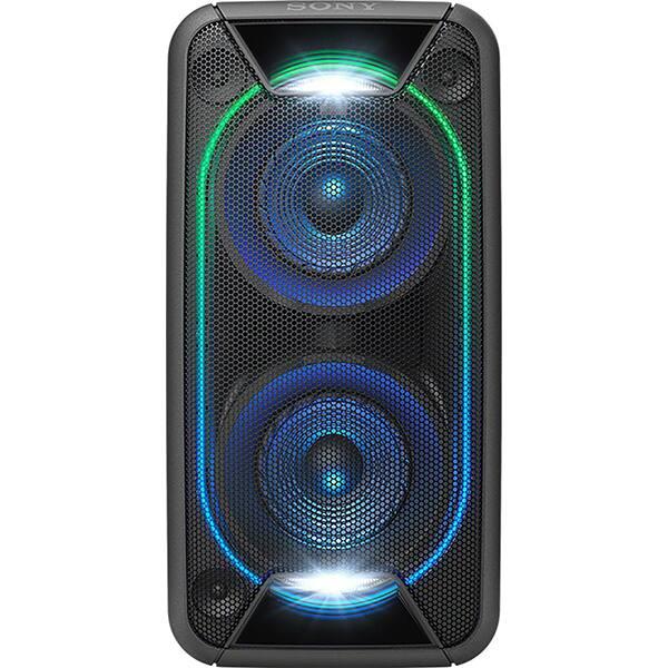 Sistem audio High Power SONY GTK-XB90, Bluetooth, NFC, Extra Bass, Party Music, Iluminare, negru