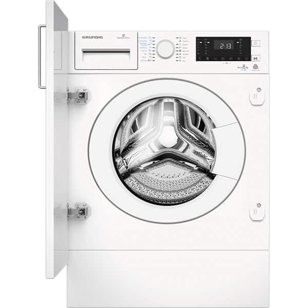 Masina de spalat rufe incorporabila cu uscator GRUNDIG GWDI854, 8/5kg, 1400rpm, Clasa A, alb