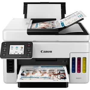 Multifunctional inkjet color CANON MAXIFY GX6040 CISS, A4, USB, Wi-Fi, Retea
