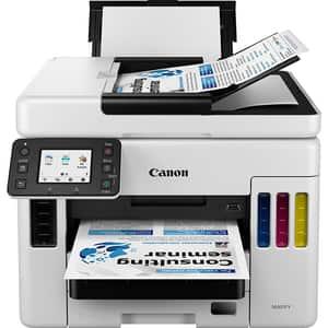 Multifunctional inkjet color CANON MAXIFY GX7040 CISS, A4, USB, Wi-Fi, Retea, Fax