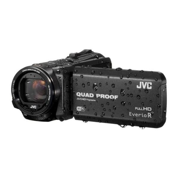 Camera video JVC GZRX625BEU, Full HD, Wi-Fi, negru
