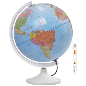 Glob pamantesc TECNODIDACTICA Parlamondo, diametru 30 cm, iluminat