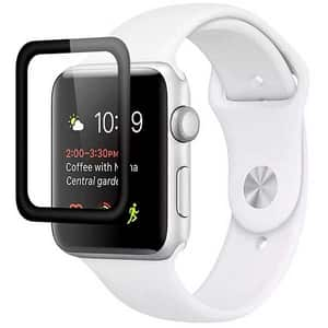 Folie Tempered Glass pentru Apple Watch 42mm, PROMATE Guardio-42, display