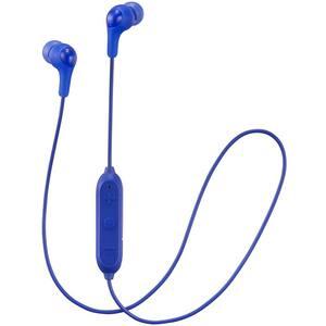 Casti JVC HA-FX9BT-A-E, Bluetooth, In-Ear, Microfon, albastru