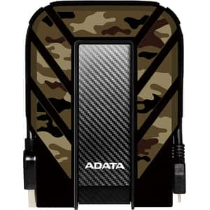 Hard Disk Drive portabil ADATA HD710M Pro, 2TB, USB 3.2 Gen1, camuflaj