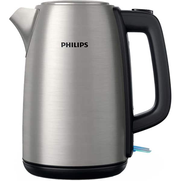 Fierbator apa Philips Daily Collection HD9351/91, 1.7l, 2200W, argintiu-negru