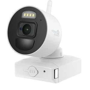 Camera supraveghere Wireless exterior HOMEGUARD HGNVK686CAMP, Full HD 1080p, IR, Night Vision, alb