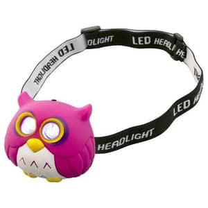 Lanterna frontala cu LED-uri HOME HLP 2 O, 2 LED-uri, roz