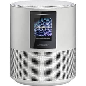 Boxa inteligenta BOSE Home Speaker 500, Bluetooth, Wi-Fi, argintiu