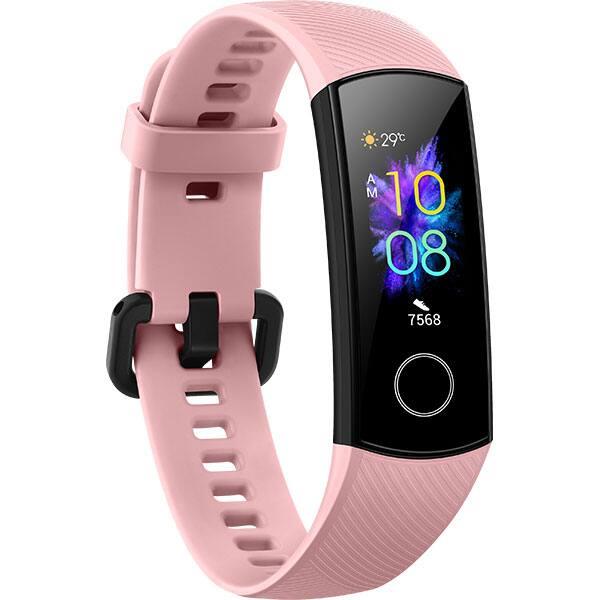 Bratara fitness HONOR Band 5, Android/iOS, Coral Pink