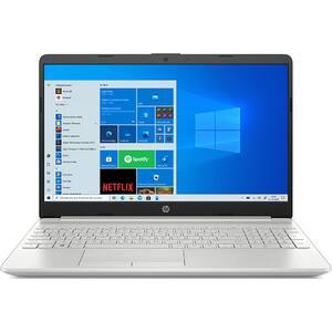 """Laptop HP 15-dw3041nq, Intel Core i3-1115G4 pana la 4.1GHz, 15.6"""" Full HD, 8GB, SSD 256GB, Intel UHD Graphics, Windows 10 S, argintiu"""